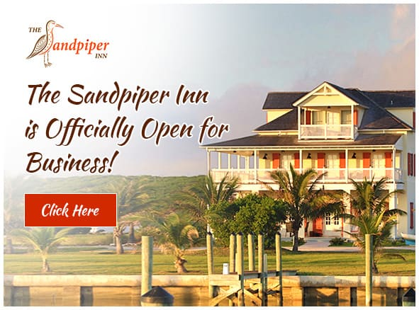 The Sandpiper Inn is officially open for business!